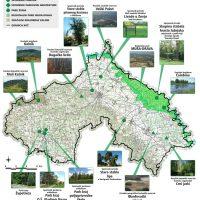 karta zaštićenih dijelova prirode KCKŽŽ